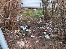 Nielegalne wysypisko śmieci w Augustowie