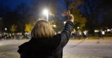 Ogólnopolski Strajk Kobiet. Blokada Suwałki [zdjęcia]