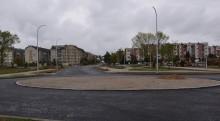 Ulica Reja z łącznikiem i rondem do Daszyńskiego. Stanie tu Lidl i pasaż handlowy [zdjęcia]