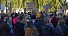 Strajk Kobiet, Piekło Kobiet, Siła Kobiet w Suwałkach. Martwa nie urodzę [zdjęcia]