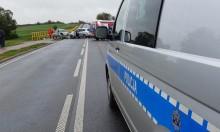 Wypadek w Stabieńszczyźnie koło Sejn. Do szpitala trafiło pięć osób