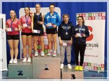 Młodzi badmintoniści SKB rywalizowali w Bieruniu