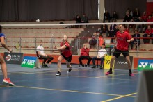 Badminton. Po II kolejkach SKB Litpol-Malow liderem Ekstraligi