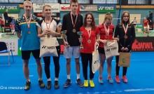 Sześć medali suwalskich badmintonistów na Grand Prix P U15 i U19