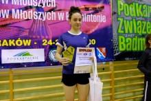 Badminton. Uliana Volskaja trzykrotną triumfatorką GPJM