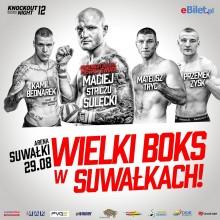 Gala Knockout Boxing Night już w sobotę w Suwałkach. Mocny cios w gorącą noc
