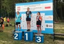 Suwalczanka Natalia Sadowska mistrzynią Polski w triathlonie