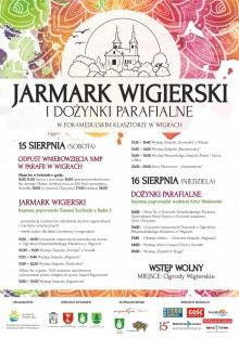 Jarmark i Dożynki Parafialne w Wigrach