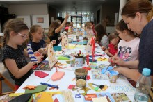 Wakacyjne zajęcia artystyczne: Kurs ilustracji, zajęcia warsztatowe