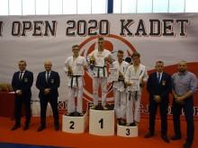 Karate. Srebro Adriana Bugiedy na Polish Open [zdjęcia]