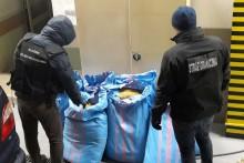 Służby przechwyciły ponad 142 kg nielegalnego tytoniu [zdjęcia]
