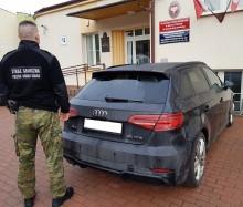 Podejrzany pojazd zatrzymany w gminie Rutka-Tartak
