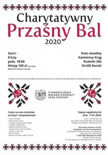 Charytatywny Przaśny Bal w gminie Raczki
