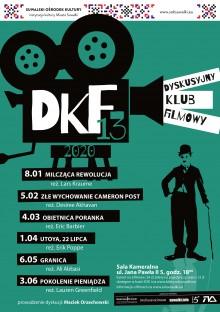 DKF 13 zaprasza na dobry film za mniej niż dychę!