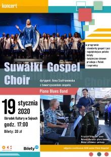 Koncert Suwałki Gospel Choir w Sejnach