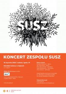 Koncert zespołu SUSZ w Sejnach