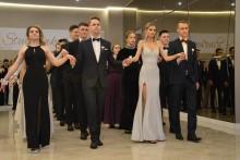 Studniówki 2020. Bal maturzystów I Liceum Ogólnokształcącego w Augustowie [zdjęcia]