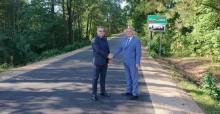 Gmina Szypliszki dorzuciła się do wyczekiwanej inwestycji. Droga Becejły - Przejma już po remoncie
