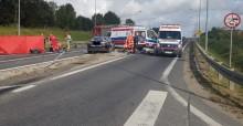 Wypadek na obwodnicy Olecka. Nie żyją cztery osoby [zdjęcia]