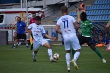 Oskar Nowak w sierpniu opuścił Wigry Suwałki i dziś zagrał w meczu Getafe - Real Madryt