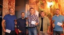 Suwalska Liga Squasha. Karol Szymański, a za nim Marcin Roszko i Jarosław Radulski [zdjęcia]