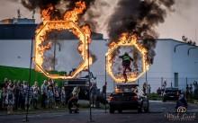 Drift, ściana ognia i monster trucki. Wyjątkowy pokaz jeszcze raz w Suwałkach KONKURS