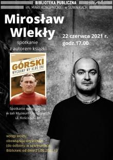 Spotkanie z Mirosławem Wlekłym w suwalskiej Bibliotece