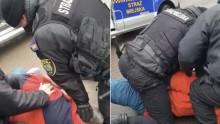 Akt oskarżenia przeciwko strażnikom miejskim w Ełku. Powalili na ziemię, skuli i użyli miotacza gazu