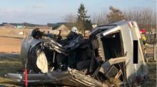 Wypadek w Dulkowszczyźnie koło Lipska. W szpitalu zmarła druga osoba [zdjęcia]