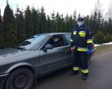 Gmina Puńsk. Strażacy OSP informują i dowiozą na szczepienia [zdjęcia]