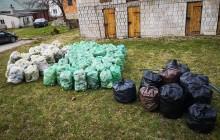 Puńsk - druga akcja sprzątania osady. Uczestnicy pierwszej zebrali 200 worków śmieci