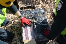 Nielegalne papierosy zakopane w wagonie z wiórami [zdjęcia, wideo]