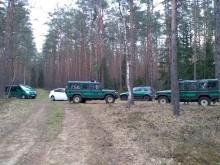 Czeczeni i Tadżykowie koło Płaskiej. Nielegalnie przekroczyli granicę z Białorusią