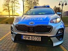 Krasnopol. Policjanci zatrzymali pijanego rowerzystę