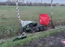 Śmiertelny wypadek w Horodniance na trasie Augustów-Białystok