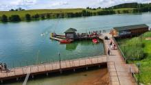 Sezon letni w WOSiR Szelment. Park wodny, katamaran, boiska plażowe