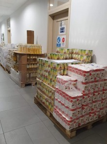 Najbardziej potrzebujący mieszkańcy gminy Suwałki otrzymają paczki żywnościowe