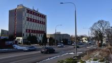 Skrzyżowanie ulic Wojska Polskiego, Zastawie, Łąkowa przy hotelu Hańcza. Tu będzie rondo [zdjęcia]