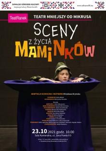 Sceny z życia Maminków w SOK. Spektakl dla grup zorganizowanych