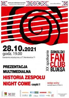Październikowe spotkanie Suwalskiego Fan Clubu Bluesa