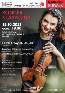 Filharmonia Suwałk zaprasza na klasyczne dzieła wielkich kompozytorów KONKURS