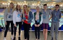 Życiówki pływaków MUKS Olimpijczyk Suwałki w Grand Prix Pucharze Polski