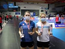 Badminton. Anastazja Khomich i Przemysław Szydłowski na podium Polish Open