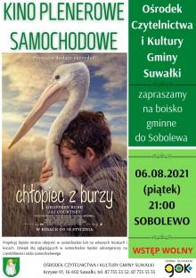 Kino plenerowe w gminie Suwałki