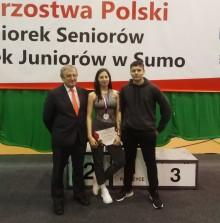 Sumo. Karolina Zakrzewska srebrna i piąta, a Hubert Domalewski siódmy w mistrzostwach Polski