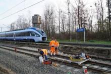 Rail Baltica. Prace w Czyżewie, Białymstoku, Szepietowie
