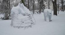 Taka zima tylko na Suwalszczyźnie. W nocy przy gruncie było -30,8°C, a dwa metry nad ziemią -24,1°C