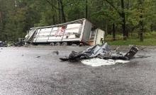 Wypadek na trasie Bobrowniki - Białystok. Zginął ojciec i troje dzieci