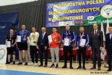 Badminton. Żołnierz 14 Pułku Przeciwpancernego Mateusz Szwejkowski mistrzem Polski