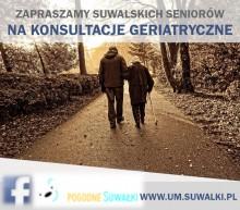 Zmiana terminu konsultacji geriatrycznych w Suwałkach